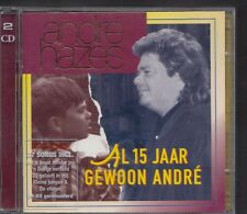 ANDRE HAZES Al 15 Jaar Gewoon André 2-CD  EMI HOLLAND sung in dutch MINT
