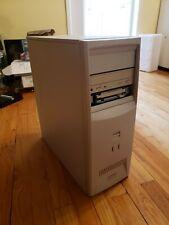 Vintage Compaq Deskpro EN Tower PC Pentium III 733MHz 512MB RAM 10GB HDD Win2000