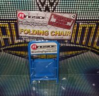 Blue Steel Chair - Ringside Collectibles - Accessories for WWE Wrestling Figures