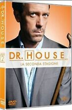 Dvd Dr. HOUSE MEDICAL DIVISION - Stagione Seconda 02 - (Box 6 Dvd) ....NUOVO