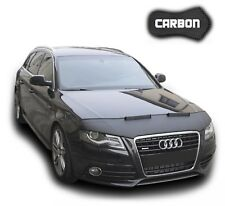 Haubenbra Audi A4 B8 A5 8T CARBON Optik Car Bra Hood Bonnet Automaske Front Mask