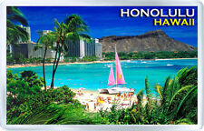 Honolulu Hawaii Fridge Magnet Souvenir Fridge Magnet