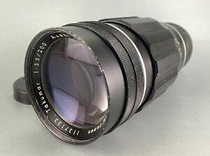 Pentax Takumar 200mm f/3.5 Lens M42 Mount Lens From JAPAN #390