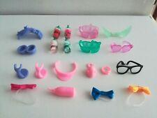 Littlest Pet Shop Dress Up 6 Pcs Lot  BOWL GLASSES VISOR HAT WING  Accessories