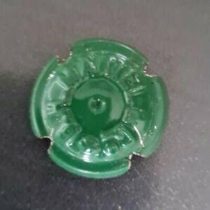 CAPSULE CHAMPAGNE MARTEL G H et C° a encoche estampée n°5d vert