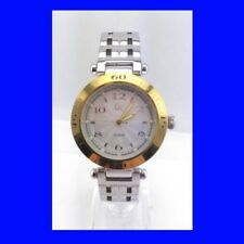 Reloj de Pulsera Excelente Y Oro Acero Retro Guess GC6000 120012G1 Fecha Cuarzo 2000