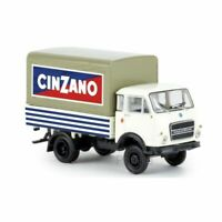 BREKINA 34634 1/87 HO CAMION OM LUPETTO PP CINZANO 1962 VOITURE MINIATURE H0