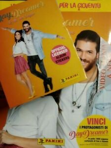 DAYDREAMER ALBUM+BOX 36 BUSTINE FIGURINE PANINI***SPED.CORRIERE