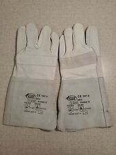 Stronghand Gray Leather Cowhide Welding Gloves Protect Welder Hands