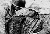 WWII photo German soldier captured by the Allies in Junkersdorf a104