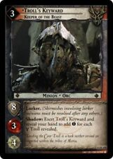 1x Lord of the Rings TCG 12R105 Troll's Keyward, Keeper of the Beast