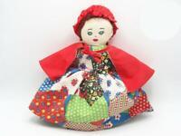 Vintage Interchangeable Hand Puppet Little Red Riding Hood Grandma