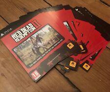 Red Dead Redemption 2 DLC Code, cheval de guerre & arme Pack, PS4 PSN UK Europe uniquement