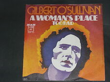 7-Single-Pop-Rock-GILBERT O'SULLIVAN-A woman's place