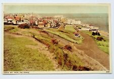 HERNE BAY FROM THE DOWNS VINTAGE POSTCARD