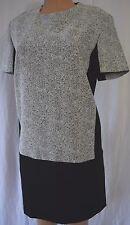 RICHARD NICOLL Black/White Color Block Cocktail  Dress Size 10