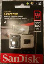 Genuine 128GB Sandisk Extreme Micro SD SDXC Card U3 V30 100mbs For GoPro Hero 4K