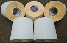 More details for large self adhesive sticky labels 150mm x 100mm 6 x 4 white address labels new