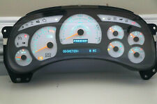 03 04 05 Cadillac Escalade Remanufactured Instrument Panel Cluster WHITE 0 MILES