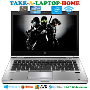 HP Elitebook FAST Laptop Core i7 3.7GHz HD 4000 Graphics Gaming SSD Comes Boxed