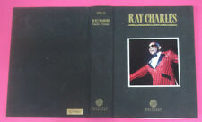 BOX BOOK LIBRO + MC RAY CHARLES Guido Tabone 1989 MULTIPLO EDIZIONI no cd lp dvd