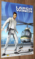 Largo Winch very rare Promo Poster 59x42cm PS2 Playstation 2 Xbox Gamecube
