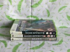 Xbox 360 game - Mass Effect Trilogy 1,2 & 3 - BS3