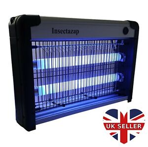 Insectazap Commercial 20W Bug Fly Zapper Insect Killer UK Stock - INS-20W