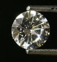 GIA loose certified .87ct VS2 G round brilliant diamond vintage estate