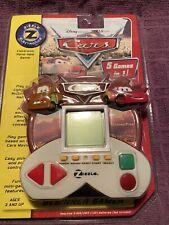 RETIRED DISNEY CARS ZIZZLE Electronic Handheld Multi Game  NEW SEALED (2006)
