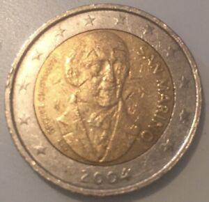 SAN MARINO 2004 2 € EURO COMMEMORATIVO BARTOLOMEO BORGHESI