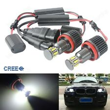 2x H8 60W  LED Blanc BMW Angel Eyes E87 E90 E91 E93 E60 E61 E70 X5 E71 X6 Z4