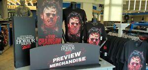 Universal Studios Texas Chainsaw Massacre Halloween Horror Nights Shirt M! 2021