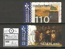 Netherlands D01 used 2000 2v Art painting Rembrant