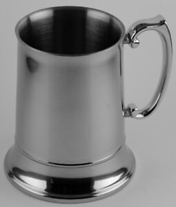 Stainless Steel Beer Mug - Engravable - Gift