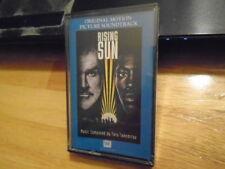 SEALED RARE OOP Rising Sun CASSETTE TAPE soundtrack TORU TAKEMITSU Sean Connery