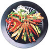 Smokeless STOVETOP BBQ GRILL Barbeque Kitchen Barbecue Pan Gril Tray Cooker