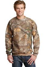 Mens Realtree Xtra Camo Sweatshirt Crew Neck Russell Outdoors S M L XL 2XL NEW