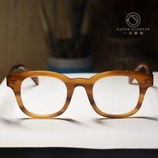 Vintage Johnny Depp eyeglasses mens blonde acetate glasses optical RX eyewear