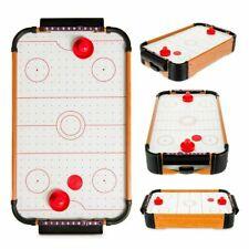 Mini Table Top Air Hockey Game Pushers Pucks Arcade Childrens Kids Toy Play Set