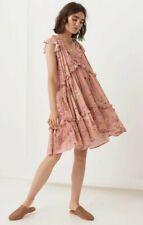 Spell Wild Bloom mini dress - XS - EUC - fit to xl