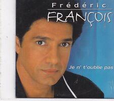 Frederic Francois-Je N Toublie Pas cd single sealed