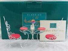 "WDCC ""A Magical Setting"" Table and Chairs from Disney's Mary Poppins in Box COA"