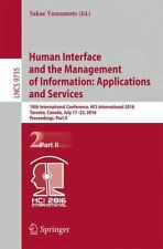 Lecture Notes in Computer Science: Human Interface and the Management of...