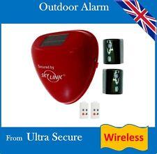 Outdoor Wireless Solar Siren Sveglia (senza potenza necessaria, può essere montato ovunque)
