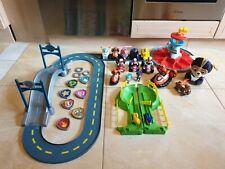 Paw Patrol Spielset Rennbahn Fahrzeuge Figuren großes Konvolut spin master