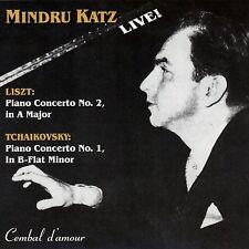 The Legendary Pianist Mindru Katz Plays Concertos by Liszt & Tchaikovsky