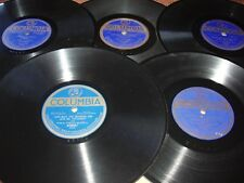 LOT OF BLUE LABEL COLUMBIA TEENS AND 20S 78S  ALL LISTED ALL HAVE SLEEVES