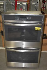 """Ge Jt5500Sfss 30"""" Stainless Double Wall Oven Nob #37903 Mad"""