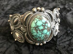 Navajo Kirk Smith turquoise bracelet